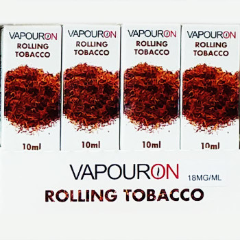 Rolling Tobacco - VAPOURON e-liquid - 10ml