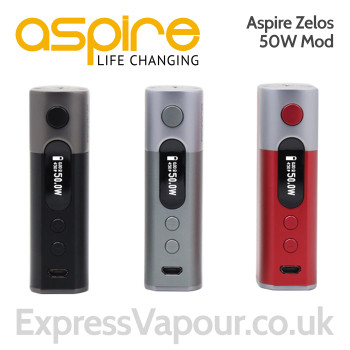 Aspire ZELOS 50w battery