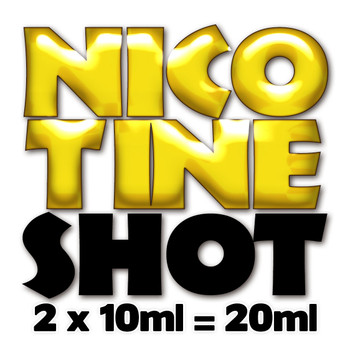 20ml unflavoured 18mg nicotine shots