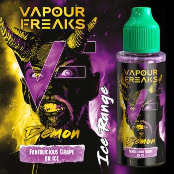 DEMON - Vapour Freaks ZERO e-liquid - 70% VG - 100ml