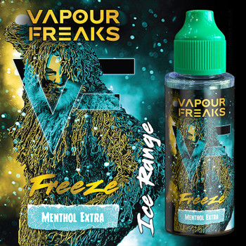 FREEZE - Vapour Freaks ZERO e-liquid - 70% VG - 100ml