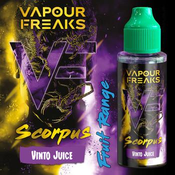 SCORPUS - Vapour Freaks ZERO e-liquid - 70% VG - 100ml