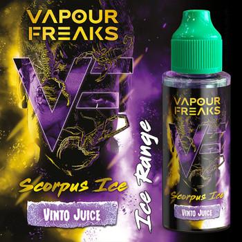 SCORPUS ICE - Vapour Freaks ZERO e-liquid - 70% VG - 100ml