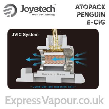 5 pack - Joyetech ATOPACK Penguin atomisers