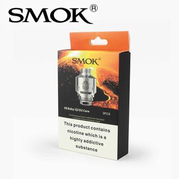 3 pack - SMOK V8 Baby-Q2 EU 0.4ohm dual core atomisers