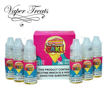 Ice Cream Cake - Vaper Treats e-liquid - 80% VG - 60ml