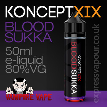 Blood Sukka - Koncept XIX e-liquid - 80% VG - 50ml