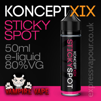Sticky Spot - Koncept XIX e-liquid - 80% VG - 50ml