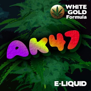 AK47 - White Gold Formula e-liquid 60% VG - 10ml