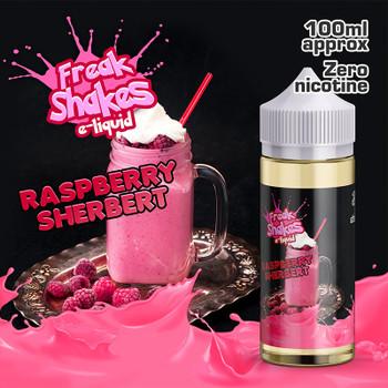 RASPBERRY SHERBERT - Freak Shakes e-liquid - 70% VG - 100ml