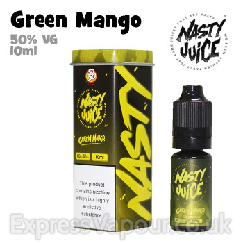 Green Mango - Nasty Juice e-liquid - 50% VG - 10ml