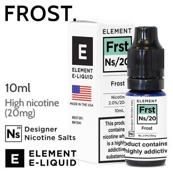 Frost - ELEMENT NicSalt high nicotine e-liquid - 10ml