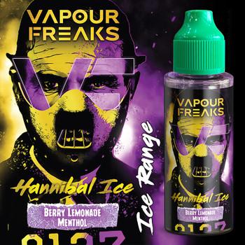 HANNIBAL ON ICE - Vapour Freaks ZERO e-liquid - 70% VG - 100ml