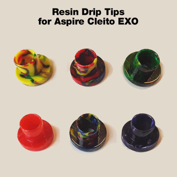 Replacement Resin Drip Tip - for Aspire Cleito EXO tank