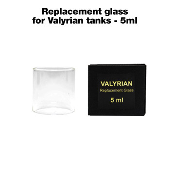 5ml capacity replacement glass for UWELL Valyrian tanks vaping tank
