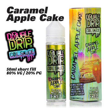 Caramel Apple Cake - Double Drip e-liquids - 50ml