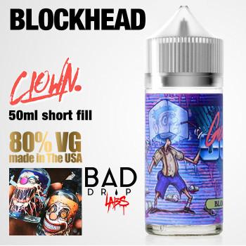 Blockhead Clown e-liquid by Bad Drip Labs - 80% VG - 50ml