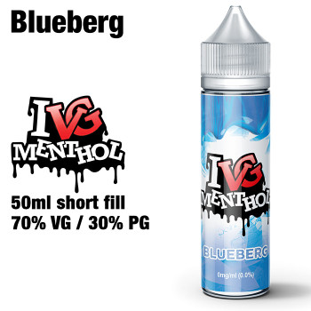 Blueberg by I VG e-liquids - 50ml