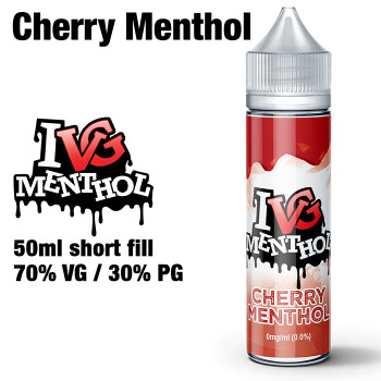 Cherry Menthol by I VG e-liquids - 50ml