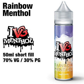 Rainbow Menthol by I VG e-liquids - 50ml