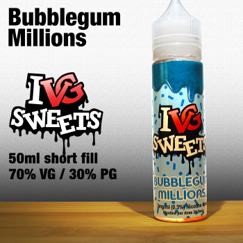 Bubblegum by I VG e-liquids - 50ml