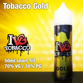 Gold Tobacco by I VG e-liquids - 50ml