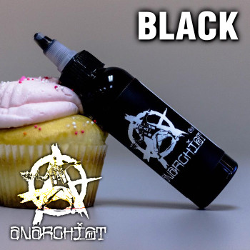 Black - Anarchist e-liquid - 70% VG - 100ml