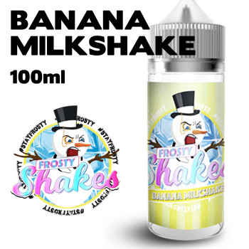 Banana Milkshake - Frosty Shakes e-liquid - 70% VG - 100ml