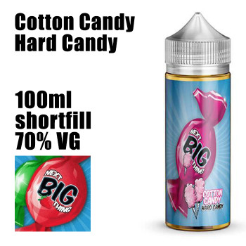 Cotton Candy Hard Candy - Next Big Thing e-liquid - 70% VG - 100ml