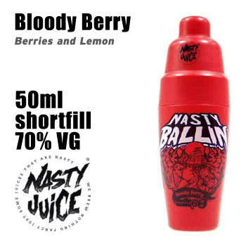 Bloody Berry - Nasty Ballin e-liquid - 70% VG - 50ml