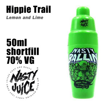 Hippie Trail - Nasty Ballin e-liquid - 70% VG - 50ml