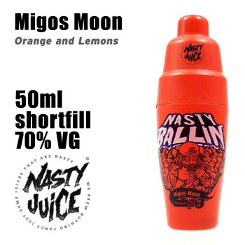 Migos Moon - Nasty Ballin e-liquid - 70% VG - 50ml