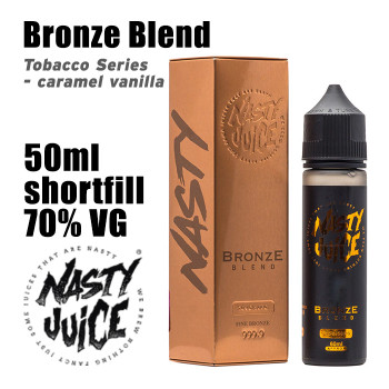 Bronze Blend Tobacco - Nasty e-liquid - 70% VG - 50ml