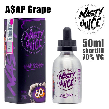 A$AP Grape - Nasty e-liquid - 70% VG - 50ml