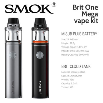SMOK Brit One Mega vape kit