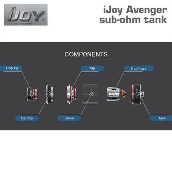 iJoy Avenger sub-ohm tank