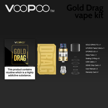 VOOPOO Gold Drag vape kit