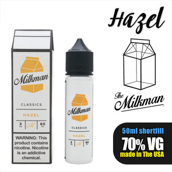 Hazel e-liquid by The Milkman – 70% VG – 50ml