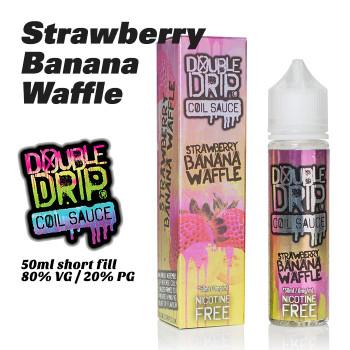 Strawberry Banana Waffle - Double Drip e-liquids - 50ml