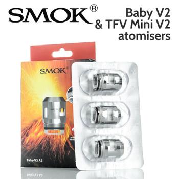 3 pack - SMOK Baby V2 / TVF Mini V2 atomisers