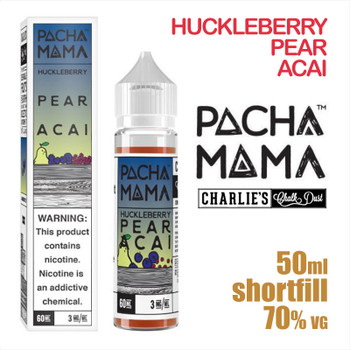 Huckleberry Pear Acai - PACHA MAMA eliquids - 50ml