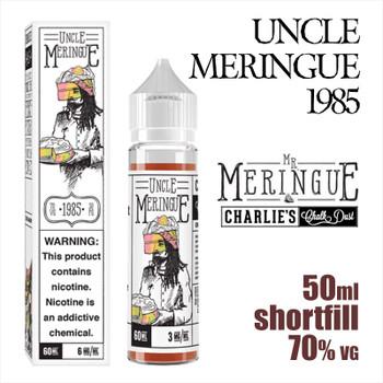 Uncle Meringue 1985 - Charlies Chalk Dust e-liquid - 50ml
