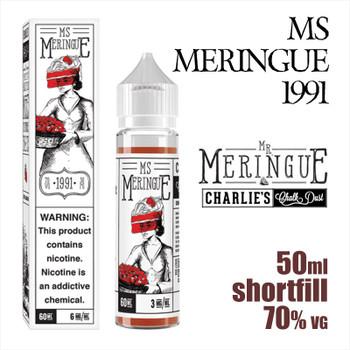 Ms Meringue 1991 - Charlies Chalk Dust e-liquid - 50ml