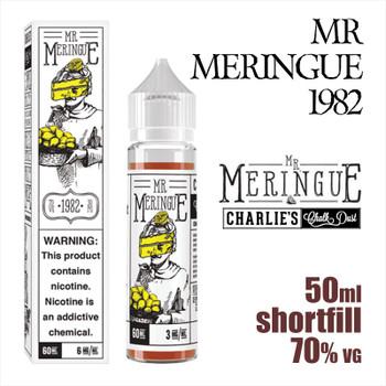 Mr Meringue 1982 - Charlies Chalk Dust e-liquid - 50ml