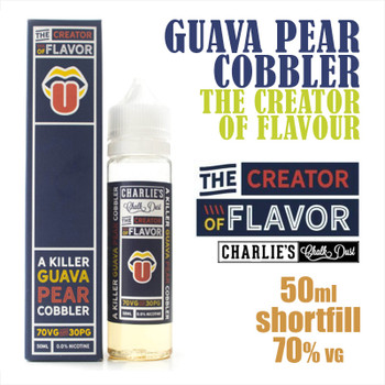 Guava Pear Cobbler - The Creator of Flavour e-liquids - 50ml
