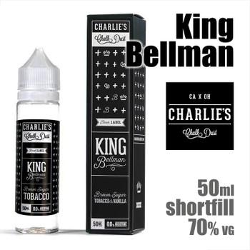 King Bellman - Charlies Chalk Dust e-liquids - 50ml