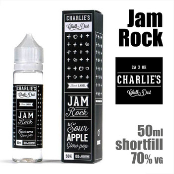 Jam Rock - Charlies Chalk Dust e-liquids - 50ml