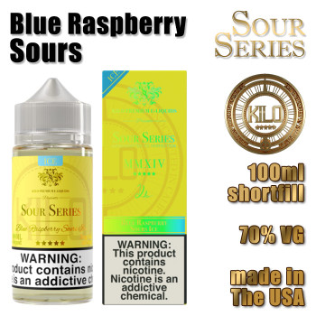 Blue Raspberry Sours - KILO e-liquids - 100ml