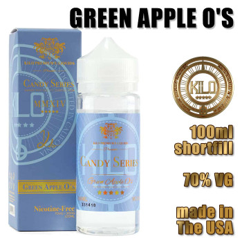 Green Apple O's - KILO e-liquids - 100ml