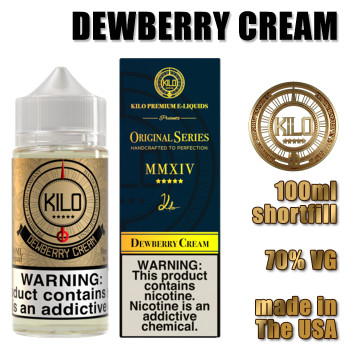Dewberry Cream - KILO e-liquids - 100ml